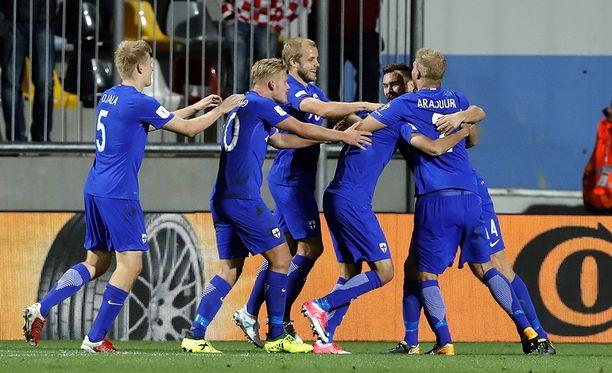 Suomi ylsi yllätystasuriin Kroatian Rijekassa perjantai-iltana.