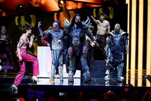 Lordi oli mukana Ruotsin euroviisufinaalin mahtavassa väliaikanumerossa.