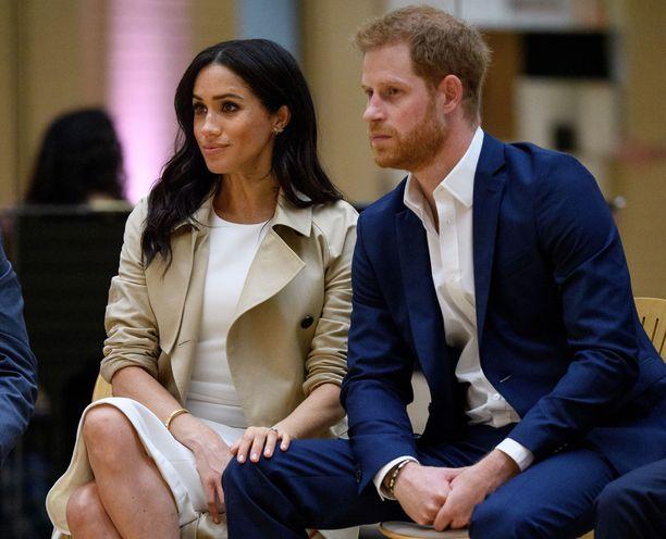 Meghan ja Harry odottavat perheenlisäystä.