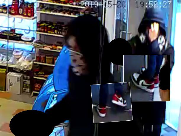 Poliisi julkaisi kuvia epäillyistä ryöstäjistä tuntomerkkeineen.
