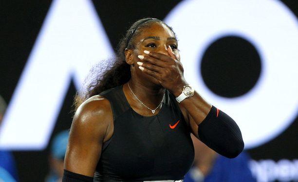 Serena Williams unohti jotain.