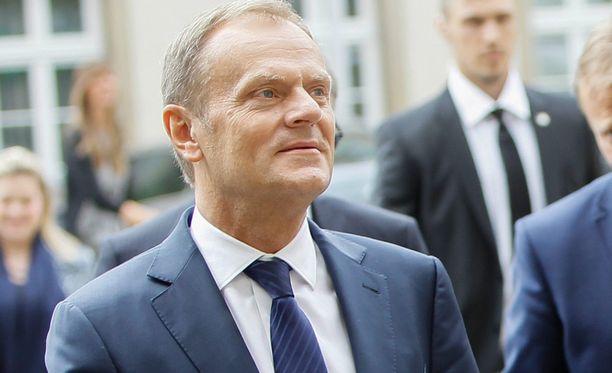 Donald Tusk perui EU-maiden iltakokouksen.