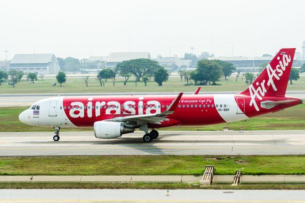 Halpalentoyhtiö AirAsian ruokaa saa nyt ravintolastakin.