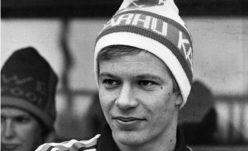 Harri Kirvesniemi oli kovassa juoksuvireessä 1980-luvulla.