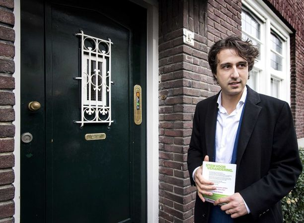 Vihreiden Jesse Klaver on nuorin puoluejohtaja.