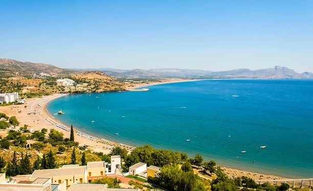 Rodosta pidetään Kreikan saarista aurinkoisimpana.