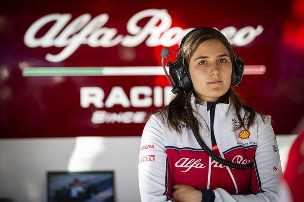 Tatiana Calderón liittyi Sauberille vuonna 2018. Ensimmäisen F1-testinsä hän pääsi ajamaan kaksi vuotta sitten.