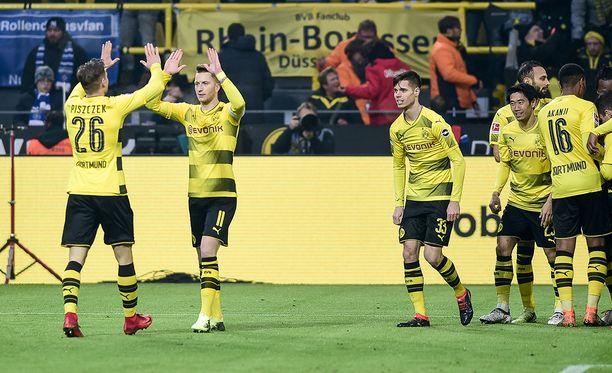 Dortmund moukaroi hampurilaisia.