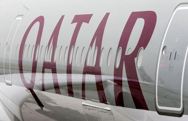 Vauva rupesi voimaan huonosti Qatar Airwaysin lennon jälkeen.