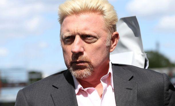 Boris Becker on pahoissa veloissa.