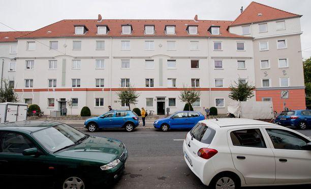 Karmiva löytö tehtiin tästä talosta Saksan Hannoverissa.