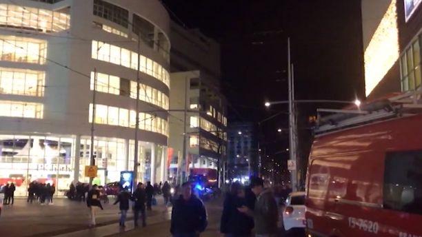 Hyökkäys tapahtui Haagin keskustassa.