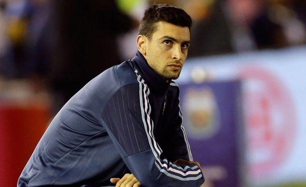 PSG-tähti Javier Pastore oli iskujen aikaan maajoukkuetauolla Argentiinan matkassa.