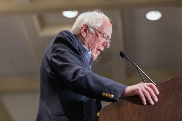 Senaattori Bernie Sanders jäänee taas toiseksi demokraattien presidenttiehdokaskisassa.