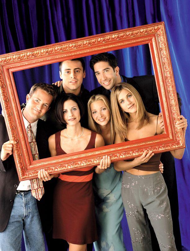 Frendit-komediasarja teki näyttelijöistä kuuluisia.