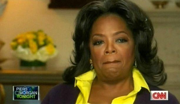 Oprah onnistui salaamaan raskauden koulukavereiltaan.