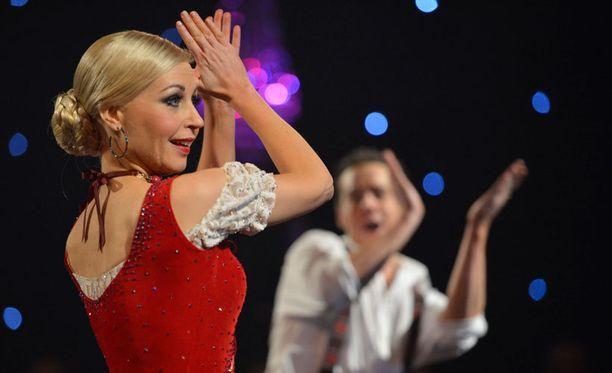 Krisse Salminen voitti tanssikisat vuonna 2012. Syksyllä nähdään, miten Krisse suoriutuu tuomarihommista.
