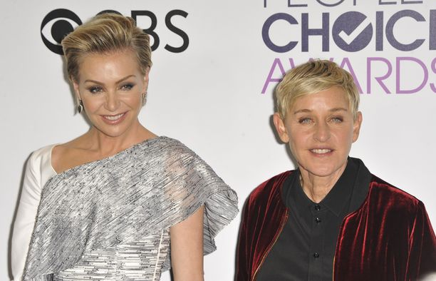 Portia de Rossi ja Ellen DeGeneres ovat olleet naimisissa vuodesta 2008.