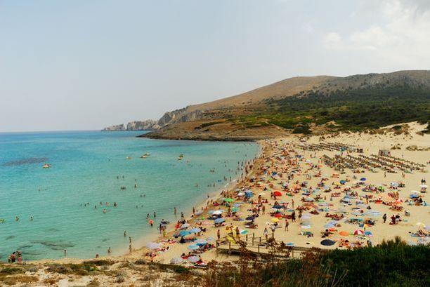 Mallorca on Espanjalle kuuluva saari Välimerellä.