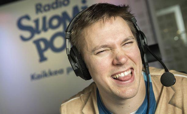 Juha Perälä on tunnettu radioääni.