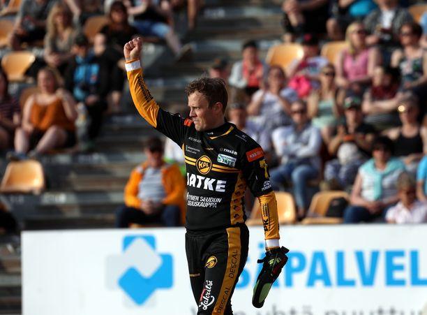 Janne Kivipelto löi ratkaisevan juoksun ja oli lautasen ääressä rautaisessa kunnossa.