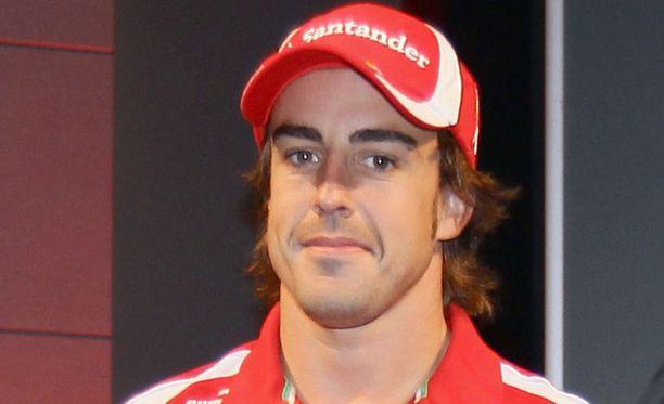 Fernando Alonson tilanne Ferrarilla on kinkkinen.