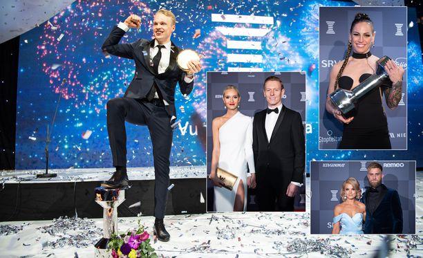 Urheilugaalassa nähdään jälleen suomalaisurheilun tähtiloistoa.