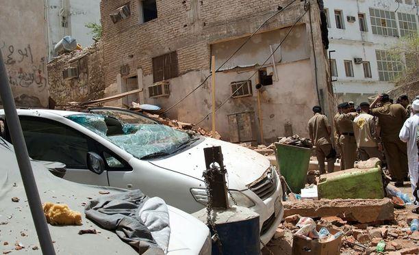 Saudi-Arabian poliisi on estänyt Mekkaan kohdistuneen terrori-iskun.