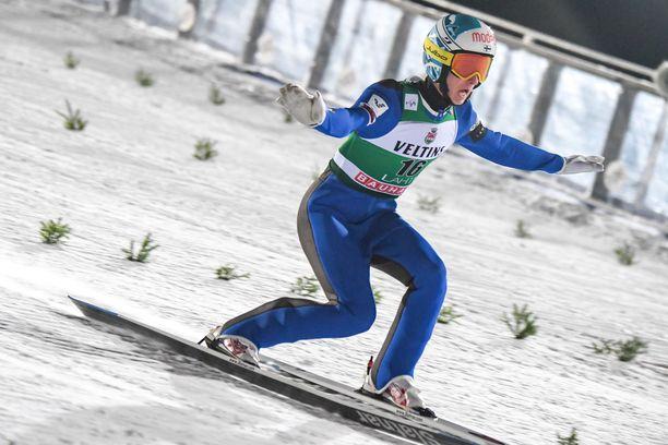 Niko Kytösaho oli mäkikisan paras suomalainen.