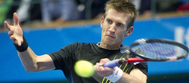 Jarkko Nieminen hävisi Tukholman ATP-turnauksen finaalin.