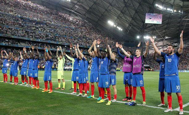 Ranskan eilisissä voittojuhlissa oli jotakin tuttua.