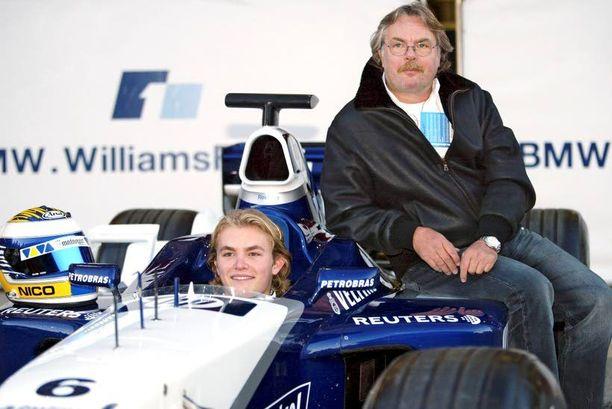 Nico Rosberg pääsi F1-auton rattiin jo 17-vuotiaana.