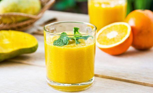 Jos raaka-aineet ovat hyviä, on smoothie varsinainen terveyspommi.
