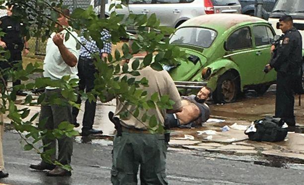Ahmad Khan Rahami otettiin maanantaina kiinni dramaattisesti New Jerseyssa.