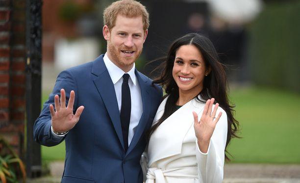 Meghan Marklen ja prinssi Harryn häitä juhlitaan lauantaina 19. toukokuuta Windsorin linnassa. Heidät vihitään St. Georgen kappelissa.