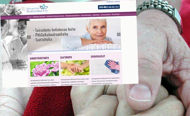 Kattariina Oy auttaa asiakasta päivittäisissä kodin askareissa, sivustolla kirjoitettiin.