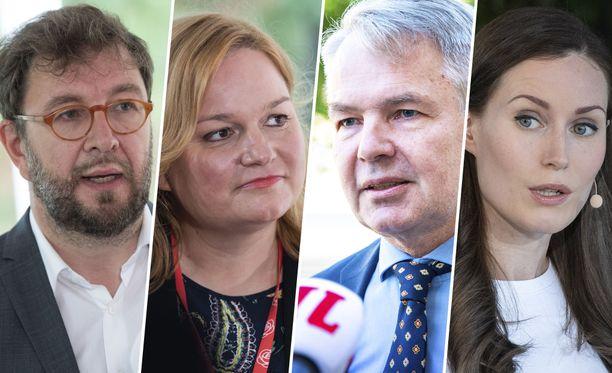 Valtioneuvosto julkaisi ministereiden kesälomat torstaina.