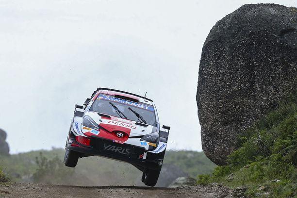 Kalle Rovanperä on esitellyt tällä kaudella taitojaan Toyota Yariksen WRC-ajokilla.