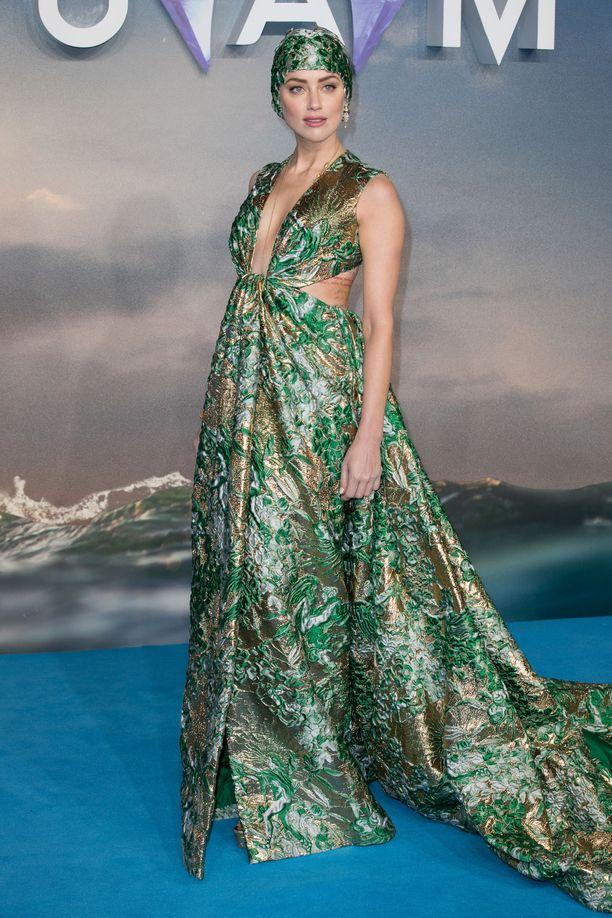 Amber Heardin roolisuoritus Aquaman-elokuvassa oli fyysisesti erittäin vaativa.