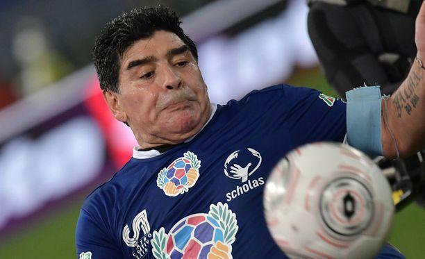 Diego Maradonakin jäi kiinni kokaiinista.