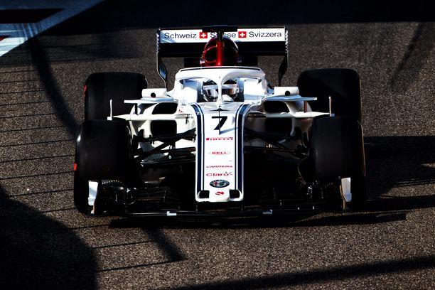 Kimi Räikkönen palasi F1-uransa ensimmäisen tallin Sauberin