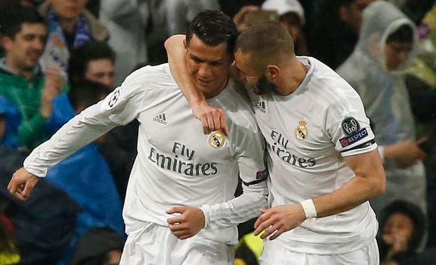 Ronaldo rokotti kahdesti yhtä monessa minuutissa.