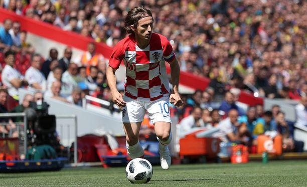 Real Madridin ja Kroatian tähtipelaaja Luka Modric joutui juuri MM-kisojen alla kohuun.