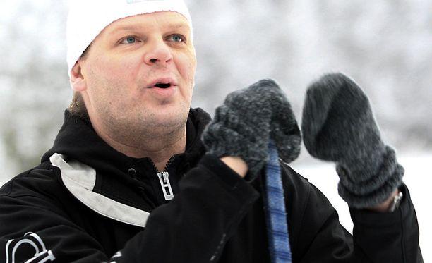 Marko Jantunen ei ollut pitkällä ja tehokkaalla urallaan maajoukkueen vakiokasvo.