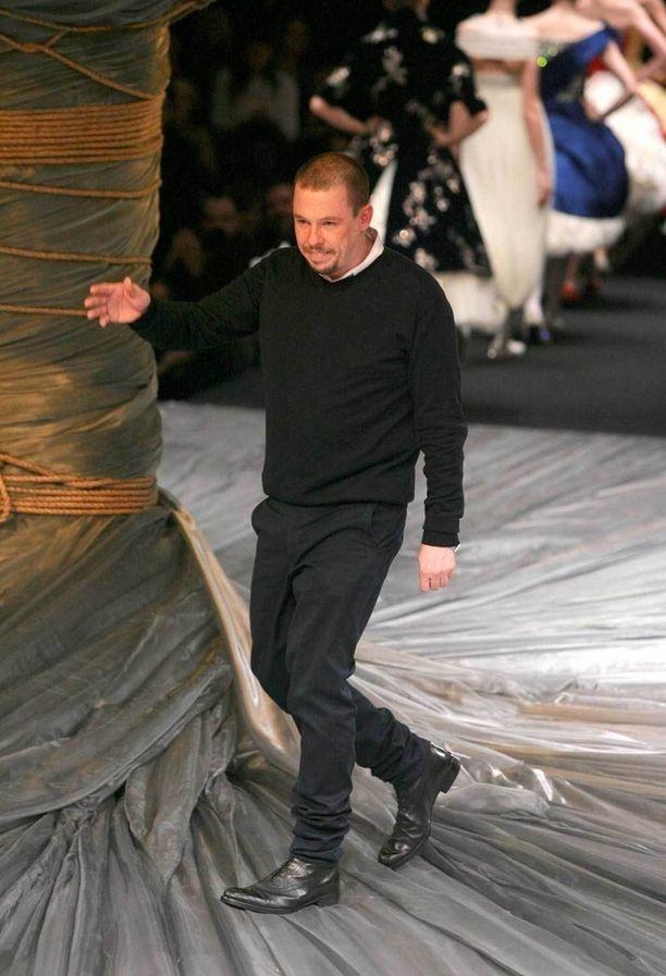 Alexander McQueen vuonna 2008