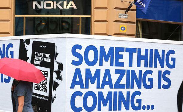 Nokia toivoo uutta nousua salamyhkäisellä mainoskampanjallaan.