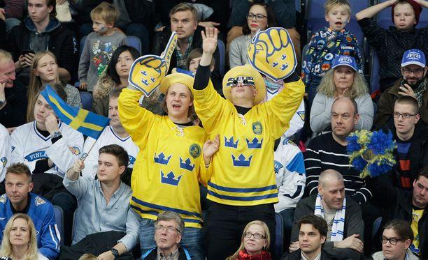 Leijonien tyrmäystappio sai kyseenalaista julkisuutta Ruotsissa. Kuvituskuva.