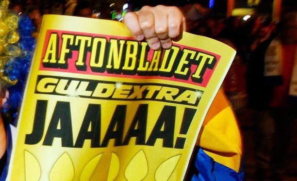 Sanni Grahn-Laasonen saa tukea Aftonbladetin Mats Wennerholmilta. Kuvituskuva.