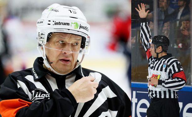 Jari Levonen ja Mark Lemelin.
