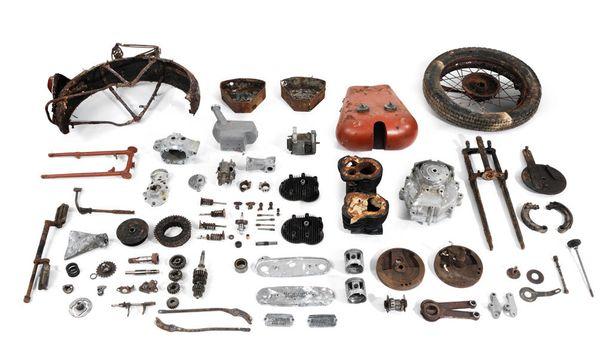 1937 Brough Superior 982cc SS80 Project, 8 300 - 11 000 euroa